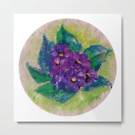 Flor IV (Flower IV) Metal Print
