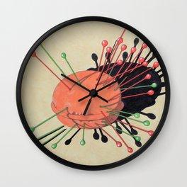 pincushion n. 3 Wall Clock