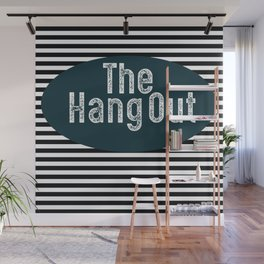 The Hang Out Wall Mural