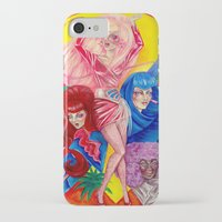jem iPhone & iPod Cases featuring Jem and the Holograms by Megan Mars