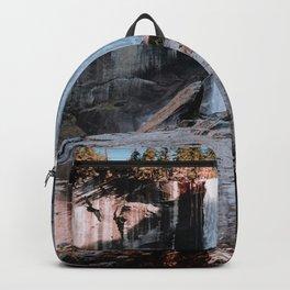 Vernal Falls Reflection - Yosemite Backpack
