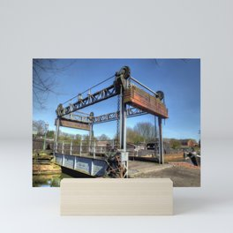 Lift Bridge Mini Art Print