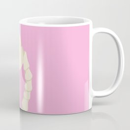 Pastel Goth Flamingo Coffee Mug
