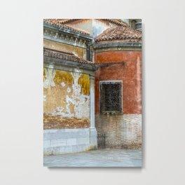 Venezia- Close up on a building Metal Print