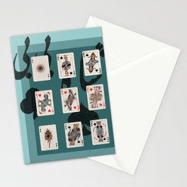 Persian Playing Cards Stationery Cards