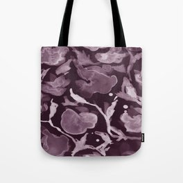 Violet watercolor flowers Tote Bag