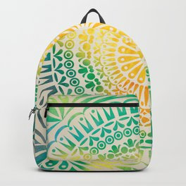 mandala14 Watercolor Mandala Backpack