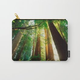 Northern California, Giant Redwoods and Redwood Trees. Carry-All Pouch
