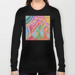 """Alien Worship"" (7138) Long Sleeve T-shirt"