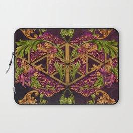 Celtic Triskels and Baroque Ornamentals Laptop Sleeve