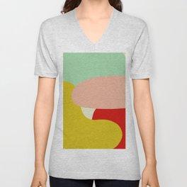 creativ colorful retro design Zamzummin Unisex V-Neck