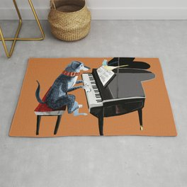 Piano lesson with Angel Rug