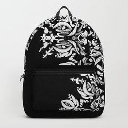 Abstract Flora Backpack