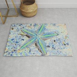 Starfish Abstract Rug