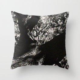 Through the Branches Throw Pillow