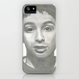 Ad Rock Portrait Drawling iPhone Case