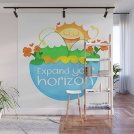 Expand Your Horizon Wall Mural