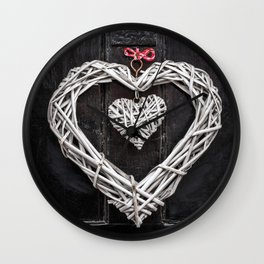 Love Letters Wall Clock
