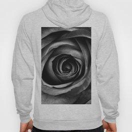 Black Rose Flower Floral Decorative Vintage Hoody