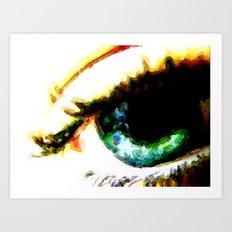 Seeing Color 2 Art Print