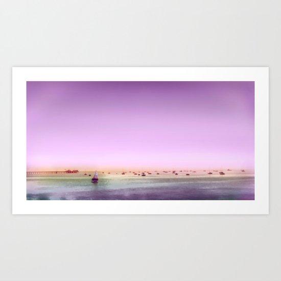 Seaboats Art Print