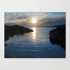 Evening at Trawenagh Bay 2 Canvas Print