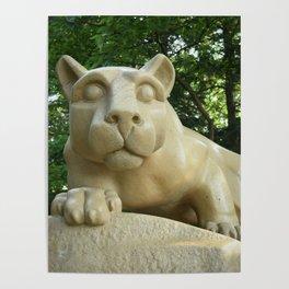 Penn State University Nittany Lion Shrine Color Print Poster
