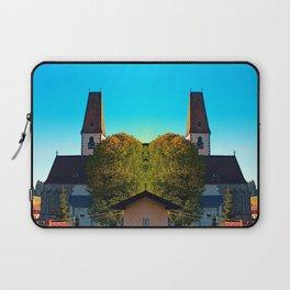 The village church of Hirschbach 2 Laptop Sleeve