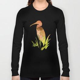 Coral Mosaic Abstract Art Long Sleeve T-shirt
