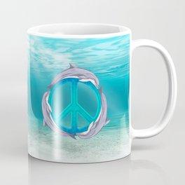 Dolphin Peace Coffee Mug