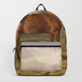James Ward Painting Oil On Canvas Artistic Nature Backpack