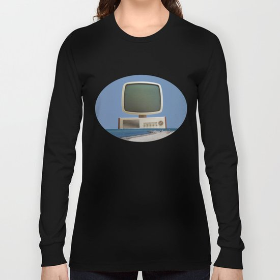 Beach TV Long Sleeve T-shirt