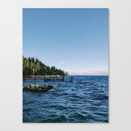 Meeks Bay Vista Canvas Print