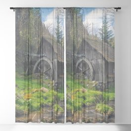 Old Mill Sheer Curtain