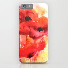 Poppy Love iPhone 6s Slim Case