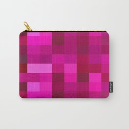 Pink Mosaic Carry-All Pouch