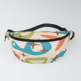 Retro Mid Century Modern Abstract Composition 921 Fanny Pack