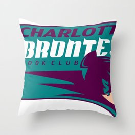 The Charlotte Brontes Team Shirt Throw Pillow