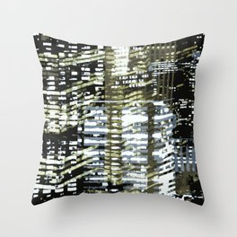 Night City 2 Throw Pillow