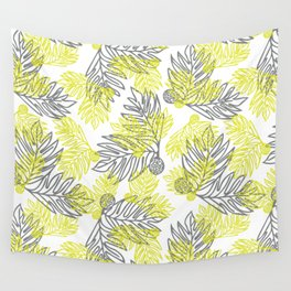 Ulu Forest Green and Grey Wall Tapestry