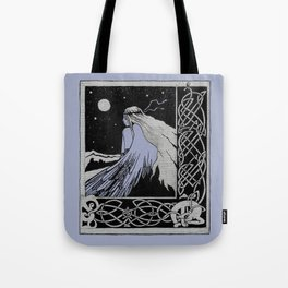 girl-bird Celticum Tote Bag