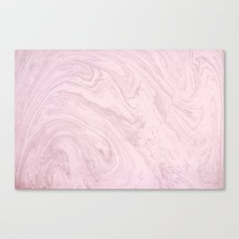 Pink Marble pattern Canvas Print