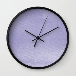 Gradient watercolor - ultra violet Wall Clock