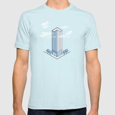 Architecture - You're Doing it Wrong SMALL Mens Fitted Tee Light Blue