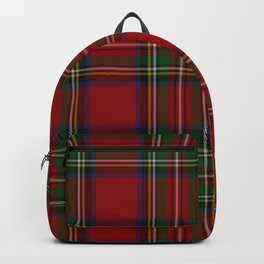 Royal Stewart Tartan Clan Backpack