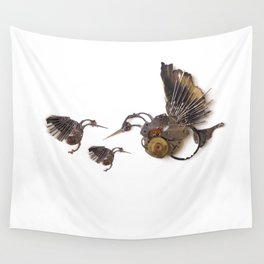 Rad's Hummingbirds Wall Tapestry