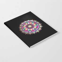 Bright mandala Notebook