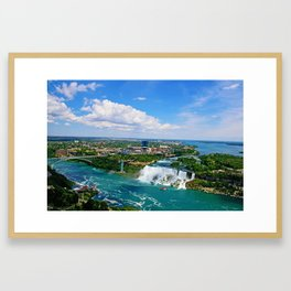 Bird's View Framed Art Print