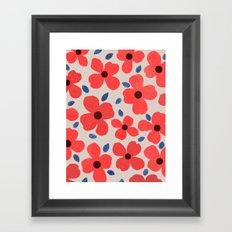 dogwood 5 Framed Art Print