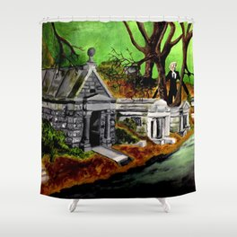 A Darkness Haunts Me #2 Shower Curtain